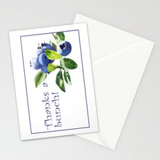 Thanks a Bunch Note Card Stationery Cards