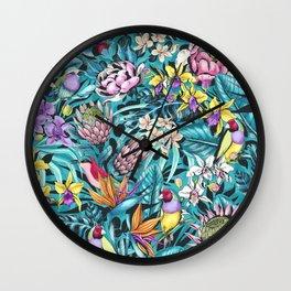 Stand out! (fresh aqua) Wall Clock
