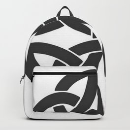 Celtic Shamrock Tribal Knot Backpack