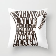 Moka Throw Pillow
