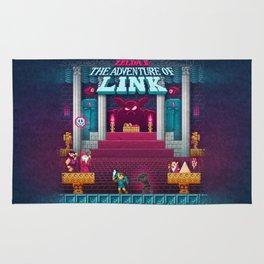 The Link Adventure of Zelda, too Rug