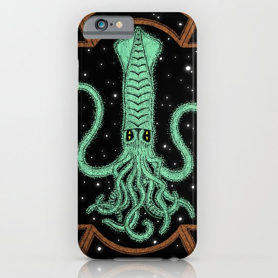 Squids in Space! iPhone & iPod Case