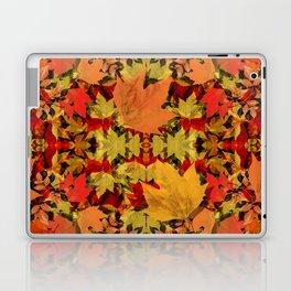 Leaves all Around Laptop & iPad Skin