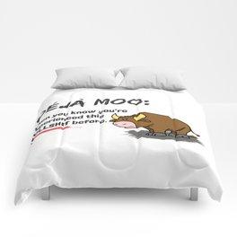 Deja Moo!! Comforters