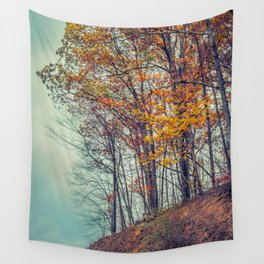 Above the Clouds in Appalachia in Autumn -- Landscape Wall Tapestry