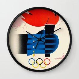 Cortina d'Ampezzo Wall Clock