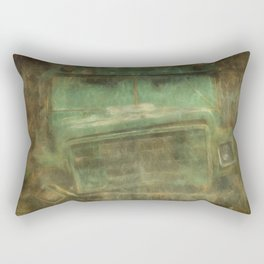 Busted and Broke Rectangular Pillow