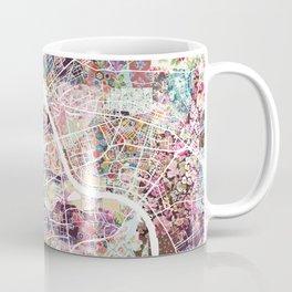 Warsaw map Coffee Mug