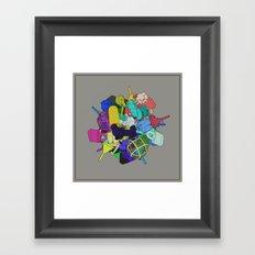 Pinion Efforvescent Framed Art Print