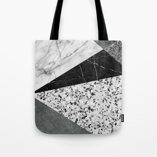 Marble and Granite Abstract Tote Bag