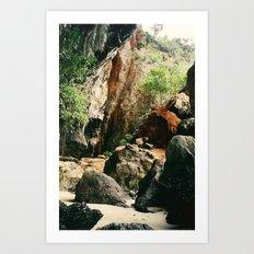 Railay Beach TH - Trail I Art Print