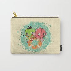 The Pond Lovers - Mr. Froggy and Ms Goldfish Carry-All Pouch