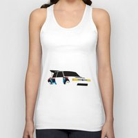 audi Tank Tops featuring 205 T16 by Cale Funderburk