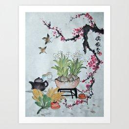 Chinese Art Art Print
