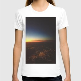 Sunset from a Plane's View T-shirt