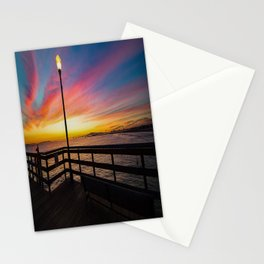 Pier Side - Seal Beach Stationery Cards