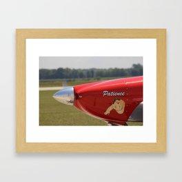 Flying History - 9 Framed Art Print