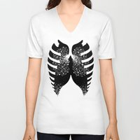 tfios V-neck T-shirts featuring The Stars in Our Lungs - TFIOS by Betwixt