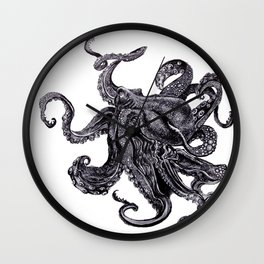 Sea Monsta Wall Clock