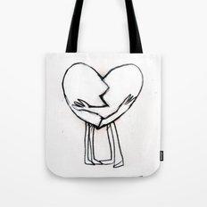 2 of hearts Tote Bag