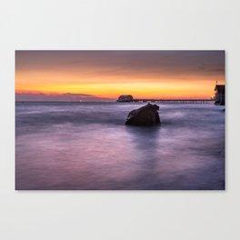 Swansea Bay Sunrise Canvas Print