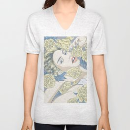 beauty in simple things Unisex V-Neck