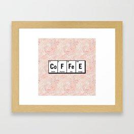 c.o.f.f.e.e Framed Art Print