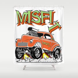 MISFIT rev 1 Shower Curtain