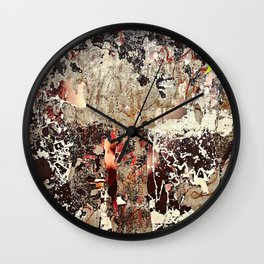 PALIMPSEST, No. 6 Wall Clock