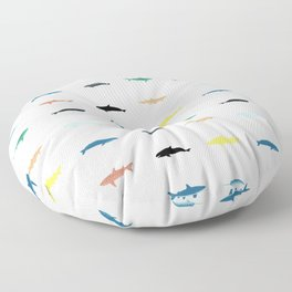 Swimmers Floor Pillow