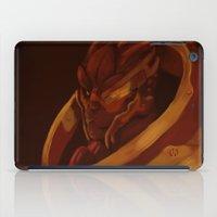 garrus iPad Cases featuring Garrus Vakarian Palette by xarilin