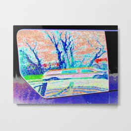 The STRETCHED Car Metal Print
