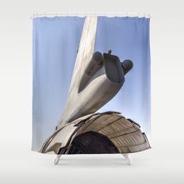 General Dynamics F-16 Shower Curtain