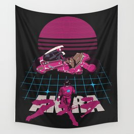 Neo-Tokyo Akira Synthwave tribute Wall Tapestry