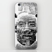 pocket fuel iPhone & iPod Skins featuring Nightmare Fuel by Danielle Brady