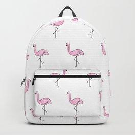 Flamingos // Simple Pattern Backpack