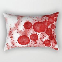 Splattered Rectangular Pillow