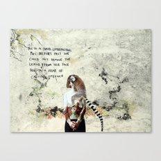 Mrs Belfort Canvas Print