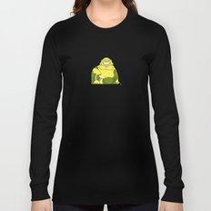 Smiling Buddha Long Sleeve T-shirt