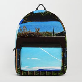 Nature on Display in full Bloom Fall Foliage Backpack