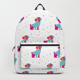 Percy Pug Pattern Backpack