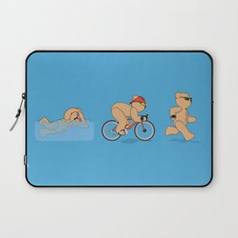 Grumpy Teds Triathlon Laptop Sleeve