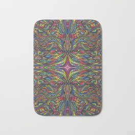 Stained Glas Bath Mat