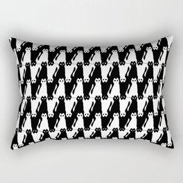 Meowstooth Rectangular Pillow