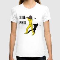 phil jones T-shirts featuring Kill Phil by Faniseto