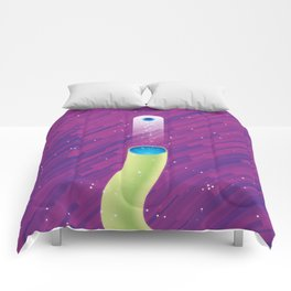 The Double Nature of Light Comforters