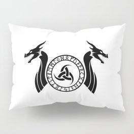 Norse Dragon - Triple Horn of Odin Pillow Sham