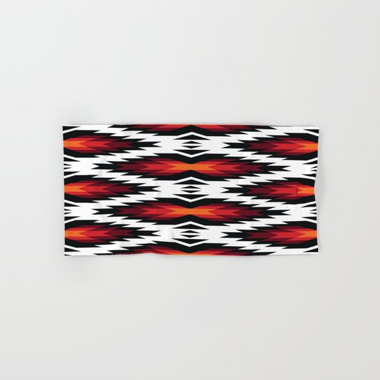 American Native Pattern No. 13 Hand & Bath Towel