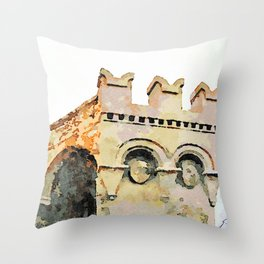 Catanzaro: tower Throw Pillow