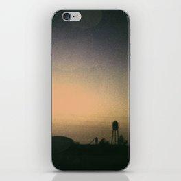 one october night. iPhone Skin